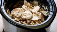 Апетитна картопля, тушкована в мультиварці