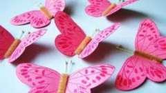 Метелики з паперу: своїми руками майструємо з дітьми