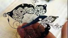 Метелики з гофрованого паперу: витончена прикраса своїми руками