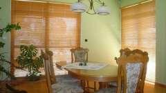 Бамбукові жалюзі - прекрасний елемент дизайну кімнати