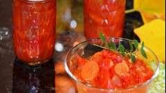 Баночки з запахом літа і фантастичного кольору - лечо на зиму з перцю та помідорів