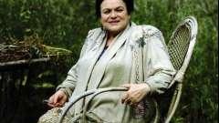 Біографія зикіної людмили - великої російської співачки