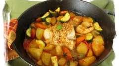 Блюдо для улюбленої сім`ї - риба в мультиварці з картоплею