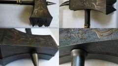 Бойовий молот - середньовічне древковое дроблять зброю. Опис
