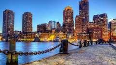 Бостон - це ... Де знаходиться місто бостон?