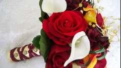 Букет нареченої: осінній стиль весілля