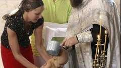 Церковне таїнство: як повинен відбуватися обряд хрещення дітей