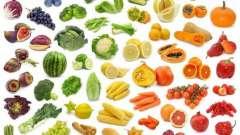 Чим відрізняється дієта кольорова?