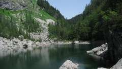 Чорне озеро, чорногорія: опис, відпочинок, фото