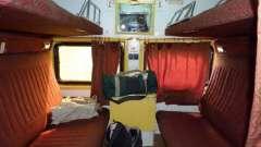Що потрібно знати про розташування місць в купейному вагоні поїзда?