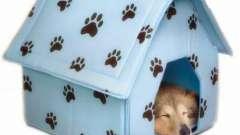 Чудовий м`який будиночок для собаки
