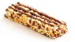 Corny (батончики-мюслі зі злаками): опис, смаки, відгуки