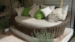 Дачні меблі: своїми руками обладнаємо місце для відпочинку