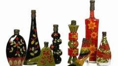 Декоративні пляшки - естетика кухонного життя