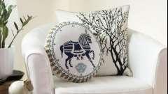 Декоративні подушки - відмінне доповнення до будь-якого інтер`єру.