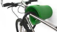 Тримач для велосипеда настінний: варіанти і опис
