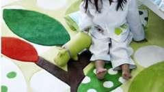 Дитячі килими на підлогу: які вони бувають?