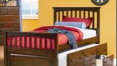 Дитячі ліжка з ящиками - функціональне рішення