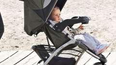 Дитячі триколісні коляски