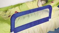 Дитячий обмежувач для ліжка своїми руками