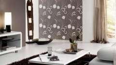Дизайн шпалер для вітальні. Шпалери для вітальні: фото з прикладами обробки