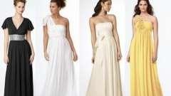 Довгі сукні в грецькому стилі: перетворюємося в афродіту