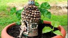 Будиночок з природних матеріалів. Своїми руками майструємо цікаві вироби