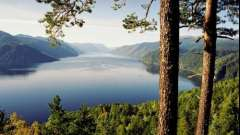 Пам`ятки телецкого озера на алтаї