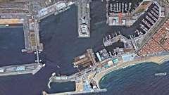 Древній і сучасний міжнародний іспанський порт. Барселона