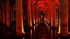 Стародавня базиліка цистерна - спадщина візантійської імперії
