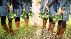Джинсовий весілля: свіжа ідея для церемонії