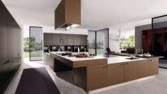 Фасади для кухні: масив дерева як заставу міцності і надійності