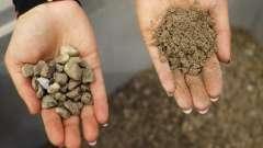 Фракція - це важливий параметр при виборі щебеню і піску для будівництва