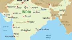 Де знаходиться індію. Місцезнаходження стародавньої індії