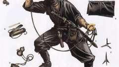 Головна зброя ніндзя - це він сам