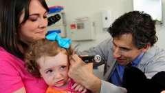 Гнійний отит у дітей: причини виникнення, симптоми і лікування