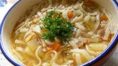 Готвоім суп в мультиварці з курки