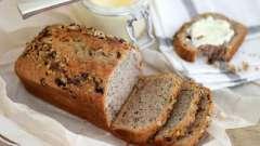 Хліб з медом і горіхами. Рецепти приготування