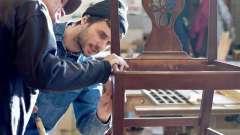 Ідеї реставрації меблів своїми руками: фото. Реставрація старих меблів
