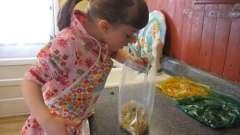 Ігри на кухні - розвиваємо малюка