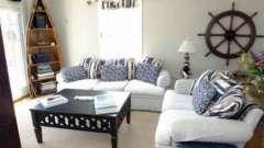 Інтер`єр в морському стилі для вашої квартири
