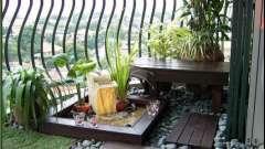 Цікаві ідеї для балкона