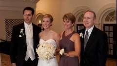 Щирі слова подяки батькам на весіллі