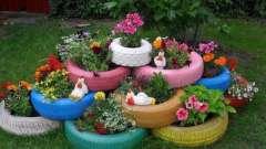 З чого можна зробити клумби для квітів на дачі: цікаві ідеї