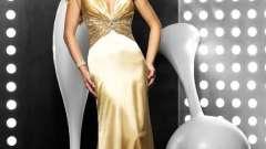 """Дивовижні сукні """"золотий пісок"""""""