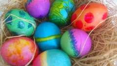 Яйця на великдень - традиційний подарунок християн