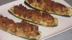 Кабачок фарширований: рецепт приготування смачної страви