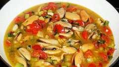 Як готувати мідії заморожені без панцира: рецепти