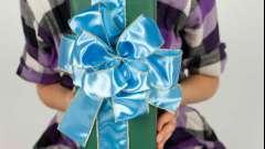 Як красиво зав`язати бант для подарунка і для дівчинки