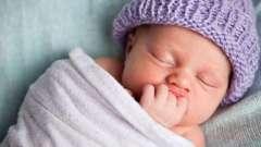 Як правильно сповивати новонародженого малюка?